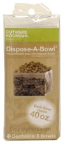 Outward Hound Dispose-A-Bowl  3 PACK