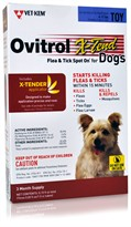 Ovitrol X-Tend Flea & Tick Spot On for Toy Dogs (6-12 lbs) - 3 MONTH