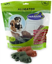 Paragon Alligator Large Dental Dog Treats (7 count)
