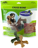 Paragon Cross Bone Dental Dog Treats (7 count)