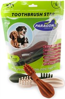 Paragon Toothbrush Star Large Dental Dog Treats (7 count)