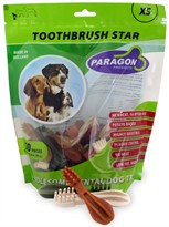 Paragon Toothbrush Star XSmall Dental Dog Treats (50 count)