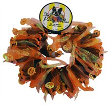 "Halloween Party Collar - Pumpkin - Medium (12"")"