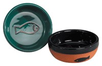 Pet Studio Terra Cotta Cat Bowl (4 inch)