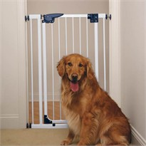 Pet Studio Pressure Mounted X-Tall Gate - White
