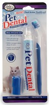 Pet Dental Oral Hygiene Kit for Cats and Kittens