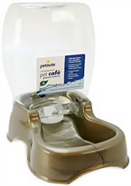 Petmate Cafe Waterer 0.75 Gallon - Pearl Tan
