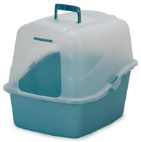 Petmate Hooded Pan Set Large - Assorted