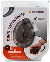 Petmate Palm Retractable Leash - Medium (Assorted Colors)