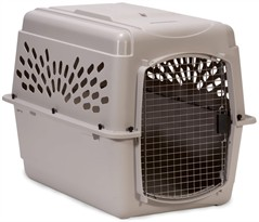 Petmate Pet Shuttle Kennel Large 20-25lbs - Mouse Gray