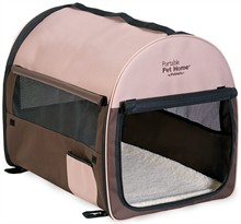Petmate Portable Pet Home Small - Dark Taupe/Coffee Grounds Brown