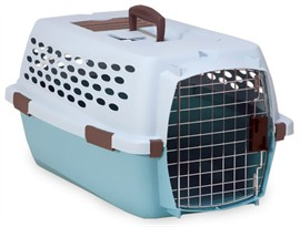 "Petmate Ultra Vari Kennel 23"" upto 15 lbs - Sky Blue"