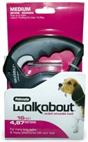 Petmate Walkabout Cord Medium - Black