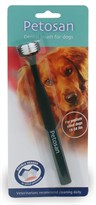 Petosan Double-Headed Dental Brush for Medium Dogs