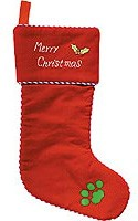Merry Christmas Pet Stocking