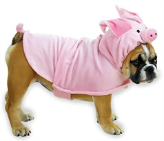 Casual Canine Piggy Pooch Costume - MEDIUM