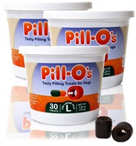 Pill-Os Tasty Pilling Treats LARGE 3-PACK (90 Count)