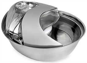 Pioneer Pet Stainless Steel Fountain Raindrop Design