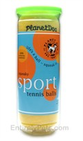 Planet Dog Squeaky Tennis Ball Canister