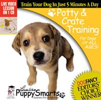 PuppySmarts Potty and Crate Training (Video CD)
