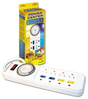 Power Center Day-Night Timer (8 Outlets)