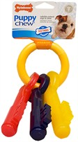 Nylabone Puppy Teething Keys  LARGE (7.75)
