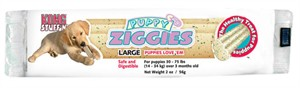 KONG Puppy Ziggies Singles - LARGE