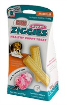 Kong Puppy Ziggies 6 Pack - Medium