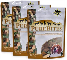 PureBites Trail Mix Freeze-Dried Treats for Dogs - 3 PACK