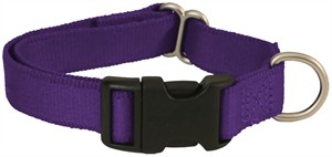 "Premier Quick Snap Collar - MEDIUM / PURPLE (3/4"")"