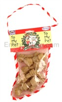 Rawhide Stocking - 8 Mini Bones