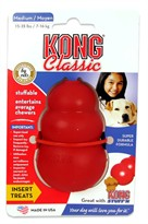 CLASSIC KONG MEDIUM (4.7 oz/140gm)