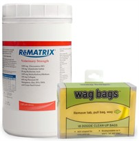 ReMATRIX Soft Chews (240 Chews) + FREE Wag Bags
