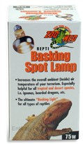 Repti Basking Spot Lamp (75 watt)