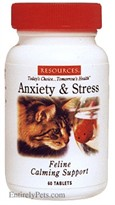 RESOURCES Feline  Anti-Anxiety & Calming Formula (60 Tabs)