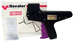 Revalor XS Implanting Gun with 5 Needles