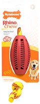 Nylabone Rhino Rope Toy - Football