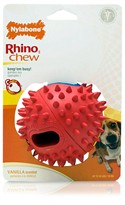 Nylabone Rhino Stuff & Chew - WOLF (RED)