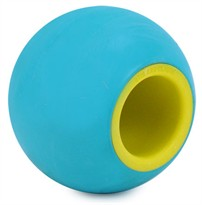 Rita Fetch & Treat Ball - Tail Waggin Teal (BLUE)