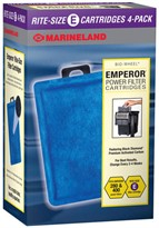 Marineland Emperor Power Filter Cartridges Rite-Size E (4 pk)