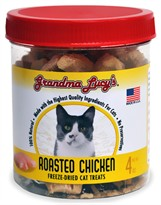 Grandma Lucy's Freeze-Dried Roasted Chicken Cat Treats (4 oz)