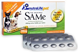 NutraLife Pet SAMe 200mg (30 tablets)