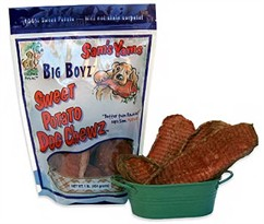 Sam's Yams Big Boyz Sweet Potato Chewz (1 lb)