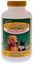 NaturVet S.O.D.  & Boswellia Tablets (500 Tabs)