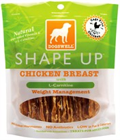 Dogswell Shape Up Chicken Breast Treats (15 oz)
