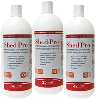 3-PACK Shed Pro for Cats (72 fl oz.)