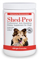Shed Pro Granules for DOGS - 454 gm