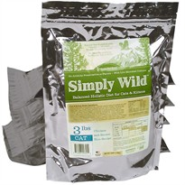 Simply Wild Chicken & Brown Rice for Cats & Kittens (3 lbs)