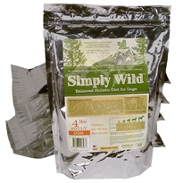 Simply Wild Chicken & Brown Rice for Adult Dogs (4 lbs)