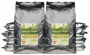 2-Pack Simply Wild Chicken & Brown Rice for Adult Dogs (52 lbs)